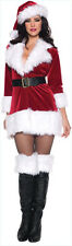 Costumes! Winter Wonderland Santa's Helper Broadway Baby Kickline Costume 8-10