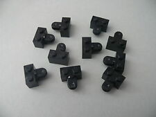 Lego 10 pieces de bras articules noires set 6975 6155 6195 /10 Arm Holder Brick