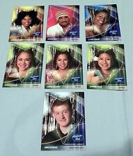 7 American Idol 2004 Trading Cards Season 3 Jennifer Hudson London Huff DeGarmo