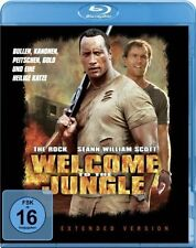 WELCOME TO THE JUNGLE (The Rock, Seann William Scott) Blu-ray Disc NEU+OVP
