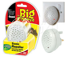 Sonic Pest Control Repeller Mice Mouse Rats Pet Safe Rodent Mains Deterrent