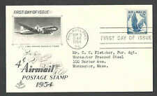 DATED 1954 PC #C48 ON CACHETED 1ST DAY W/ADV FOR FENWAL TEMP CONTOLLERS SCARCE