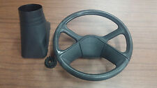 Craftsman Model 917273372 Lawn Tractor Steering Wheel with Shaft Cover & Adapter