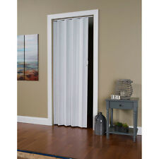 """Folding Door Room Dividers Accordion Collapsible Closet White Fits 24""""-36"""" x 80"""