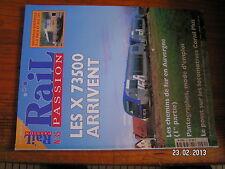 / Rail Passion n°35 X 73500 CF en Auvergne Pantographe Batignolles Pologne Lande