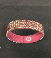 Swarovski crystal Red wine bracelet