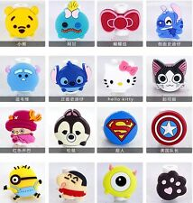 10pc Cartoon Earphones Cover #K USB Cable Data Line Protection for Phone Android