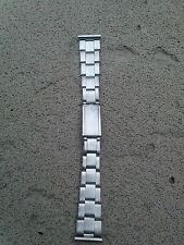 Vintage Mens Stainless steel wristwatch bracelet nos-19mm-OYSTER STYLE