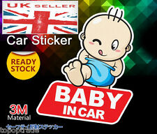 Baby on Board / in Van Windscreen Body Panel Bumper Car Sign Transfer Sticker