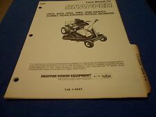 (DRAWER 22) Snapper Rear Engine Riding Mowers Comet 265X 268X 308X Parts Manual