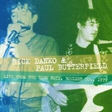 """Rick Danko & Paul Butterfield """"Live from the Blue Note, Boulder co.1979"""" CD"""