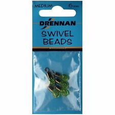 Drennan Swivel Beads Medium 6mm Coarse Carp Match Fishing Terminal Tackle New