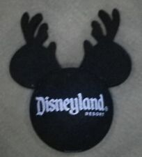 DISNEYLAND MICKEY WITH REINDEER ANTLERS CHRISTMAS ANTENNA BALL TOPPER - NEW