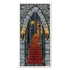 Castle Entrance Door Cover Medieval or Halloween Decoration