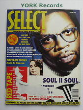 SELECT MAGAZINE - October 1990 - 100 Worst Singles / Mark E Smith / Cocteau Twin