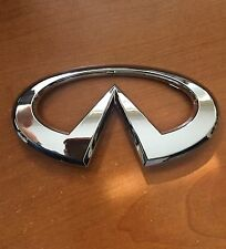 03 04 05 06 Infiniti G35 4dr Sedan Front & Rear Logo Emblem Badge Decal OEM
