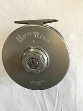 *Temple Fork - TERRY HAYDEN 1 Large Arbor FLY REEL - RETAIL $399.95