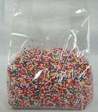 Nonpareils Non-Pareils Sprinkles 12 oz Rainbow / multicolor Cookie Cake Cupcake