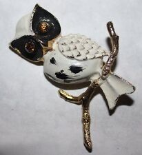 WEISS signed OWL PIN RARE AND UNUSUAL!!!!!!!!!!!!!