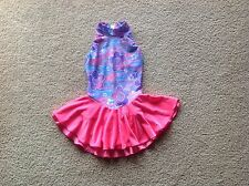 Girls Beautiful Ice Figure Skating Competition Dress Size M