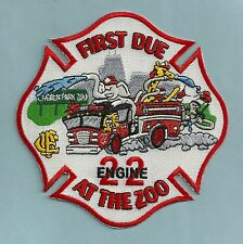 CHICAGO FIRE DEPARTMENT ENGINE COMPANY 22 PATCH
