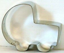 "METAL Cookie Cutter BABY CARRIAGE 2 ½  x 3  x 1""  deep NEW"