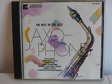 CD ALBUM The best of the Jazz Saxophones STAN GETZ ZOOT SIMS .. DC 8520