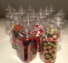 20 Medium 1L Victorian Sweet Jars NEW STYLE DIY Candy Sweet Buffet Wedding/Party