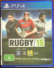 Rugby 15 (2015) Sony PlayStation 4 PS4 Brand New FREE SHIPPING!