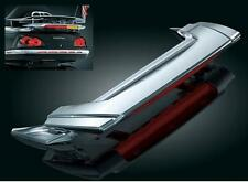 Kuryakyn - 3239 - Low Profile Spoiler with L.E.D. Run-Turn-Brake Light, Chrome