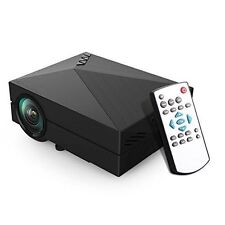 LELEC GM60 Mini LED Projector LCD 1000 Lumens Multi-media Portable Projector