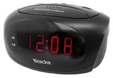 Westclox LED Display, Super Loud Alarm Clock 70044