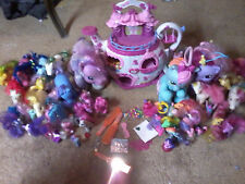 My Little Pony Teapot House Castle Tea Cup Toy + 45 vintage ponies & Accessories