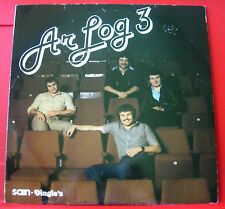 Ar Log 3/III/Three LP UK ORIGINAL+2 INSERTS 1981 Welsh Folk Dingles DIN 315