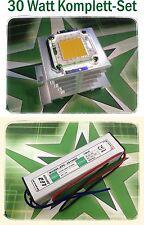 SET - 30W Watt LED Fluter 3000lm - 6000K weiß SMD Flutlicht Aquarium Beleuchtung