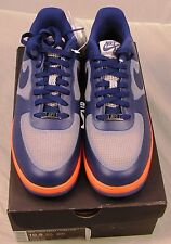 Nike Lunar Force 1 LTHR Air Force Fuse-Size 10.5-Wolf Grey Deep Royal-FREE Ship