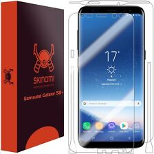 Skinomi FULL BODY Clear Skin+Screen Protector For Samsung Galaxy S8 Plus S8+