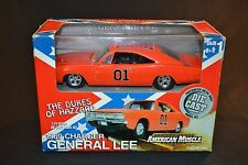 USED American Muscle Dukes of Hazzard General Lee Built Kit 1:24 w Box DieCast