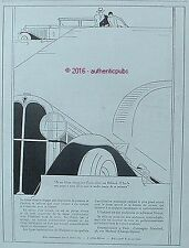 PUBLICITE AUTOMOBILE OAKLAND A TOUTE ALLURE DE 1929 FRENCH AD CAR PUB ART DECO