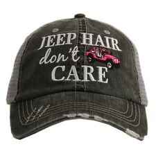 Hot Pink Jeep Hair Don't Care Hat