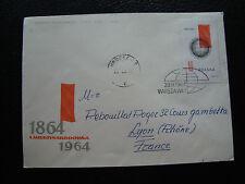 POLOGNE -  enveloppe 1961 (cy71) poland