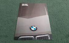 1983 1984 BMW 528i 525i 520i 518 5 Series - UK Market 2/83 16pg FOLDER BROCHURE