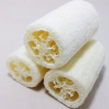 6 x Natural Loofah Luffa Loofa Bath Body Shower Sponge Scrubber