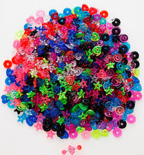T#146 - 40pc Glitter Donuts for Tongue Rings