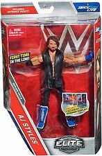 WWE AJ STYLES FIGURE ELITE 47A WRESTLING SMACKDOWN PHENOMINAL ONE FIRST IN LINE
