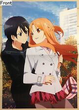 Sword Art Online II / Is the Order a Rabbit?  2-sided folded poster