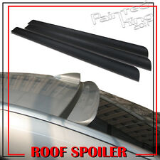 Unpainted 09-13 FOR KIA Forte Koup 2DR SX PU Flexible Rear Roof Lip Spoiler Wing