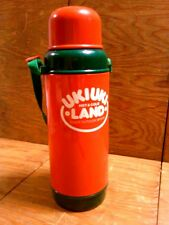 Vtg Ukiuki Hot & Cold Land The Peacock Vacuum Bottle Co. Ltd. Thermos Japan