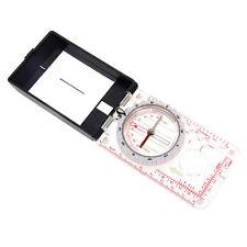 Boussole Compas 45-6B Trekking Cadeaux Camping Miroir Graduation +Magnifier