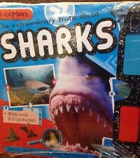 I Explore Sharks, Extreme Animals and Dinsosaurs 3 pack new paperbacks set